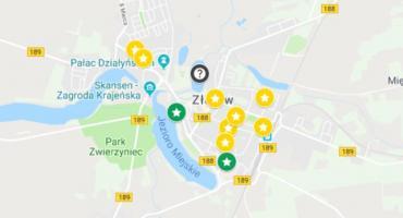 Lista lokali wyborczych w Złotowie wraz z granicami obwodu głosowania