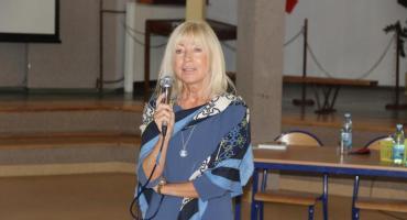 Spotkanie z Anną Marią Wesołowską w Zakrzewie