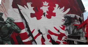 Taaakie skrzydła, czyli nowy mural w Jastrowiu