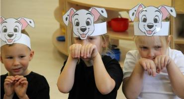 Dzień kundelka w przedszkolu w Okonku