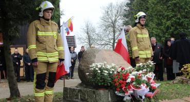 Mieszkańcy Starej Wiśniewki obchodzili dziś 100-lecie odzyskania Niepodległości