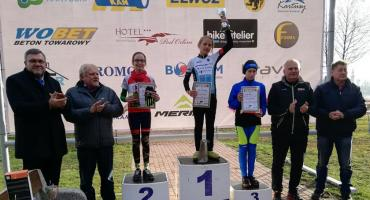Start zawodników LKS Drogowiec w Pucharze Polski w kolarstwie przełajowym
