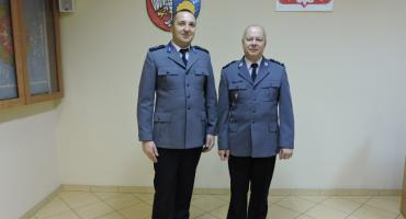 Awans Komendanta Policji z komisariatu w Okonku