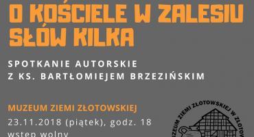 Spotkanie autorskie z ks. Bartłomiejem Brzezińskim