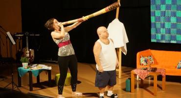 Teatr Zapis Fonetyczny wystąpił w Złotowie