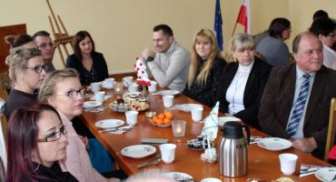 Spotkanie wigilijne z Powiatowym Centrum Pomocy Rodzinie w Złotowie