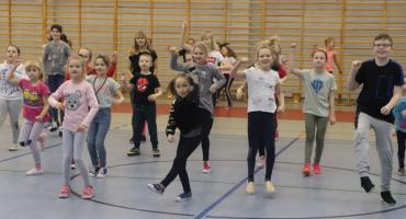 Zumba dla dzieci - ferie ze ZCAS-em w Złotowie