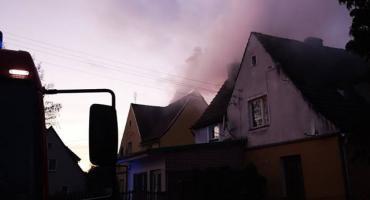 Pożar przewodu kominowego w Jastrowiu