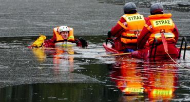 Strażacy ratowali tonącego