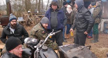 Eintopftreffen - czyli zimowy zlot motocyklowy niedaleko Krajenki