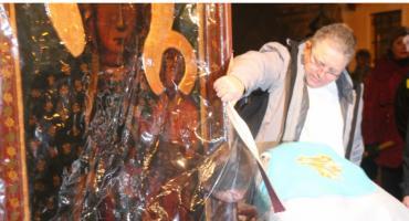 Obraz Matki Bożej w Parafii Wniebowzięcia NMP w Złotowie