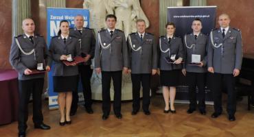 Złotowscy policjanci wyróżnieni Kryształowymi Gwiazdami
