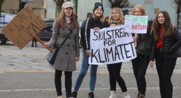 Strajk klimatyczny młodzieży w Złotowie
