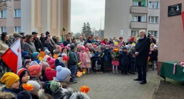 Odsłonięcie i poświęcenie tablicy podporucznik Emilii Chłapowskiej