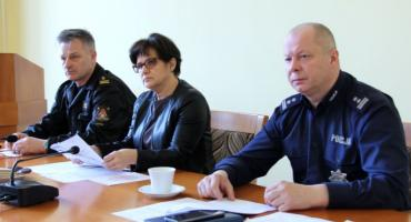 Pierwsze posiedzenie Powiatowego Zespołu Zarządzania Kryzysowego w Złotowie w 2019 roku