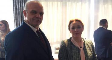 Starosta spotkał sie z minister Angeliką Możdżanowską