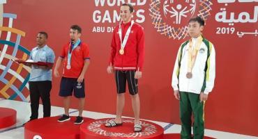 Powitanie mistrza olimpijskiego