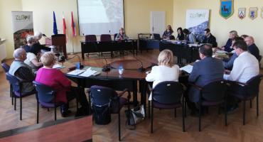 Posiedzenie Złotowskiej Rady Seniorów z Burmistrzem Miasta Złotowa