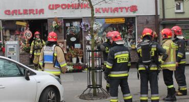 Strażacy zablokowali ul. Wojska Polskiego