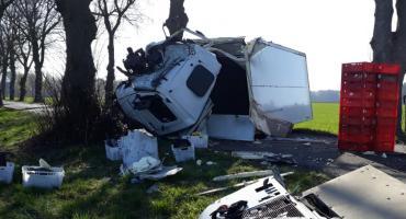 Wypadek na trasie Złotów - Śmiardowo Złotowskie