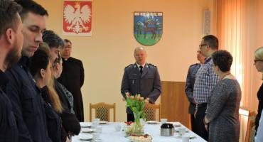 Wielkanocne spotkanie w Komendzie Powiatowej Policji w Złotowie