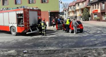 Zderzenie dwóch aut w Złotowie