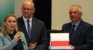 Wiceminister Ministerstwa Inwestycji i Rozwoju Andżelika Możdżanowska w Sypniewie