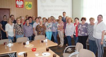 Pierwsze spotkanie Klubu Seniora w Lipce