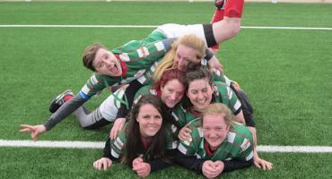 Ewelina gra w rugby