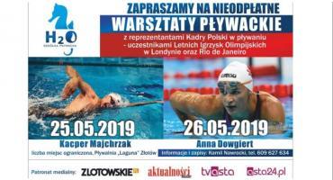 Warsztaty Pływackie z Kacprem Majchrzakiem i Anną Dowgiert