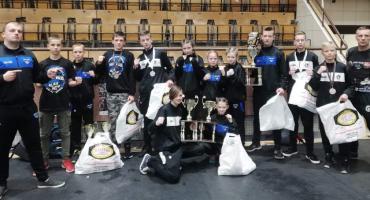 MLKS Spider Złotów na Polish Fighter Kids w Szczecinie