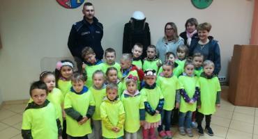 Wizyta przedszkolaków w złotowskiej komendzie