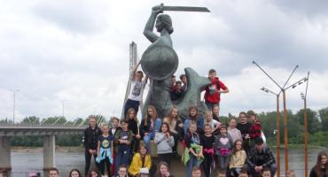Uczniowie ze Skórki w stolicy