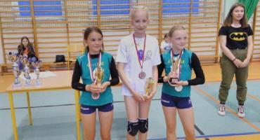 Siatkarki z SP1 na I Turnieju Mini Siatkówki Dziewcząt w Miastku