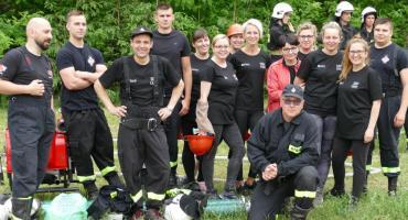 Gminne Zawody Sportowo - Pożarnicze w Łąkiem