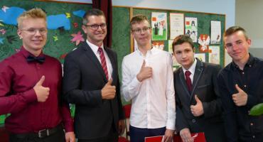 Zakończenie roku szkolnego w Łąkiem