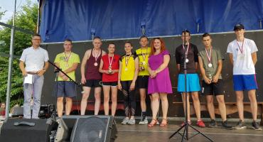 Turniej siatkówki 3- osobowej w Wielkim Buczku