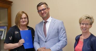 Ewa Polańska-Ciechanowska dyrektorem Szkoły Podstawowej im. Jana Pawła II w Lipce