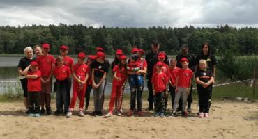 Prewencyjnie na obozie Młodzieżowych Drużyn Pożarniczych