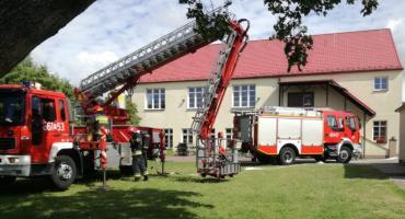 Strażacy ćwiczyli w Zakrzewie