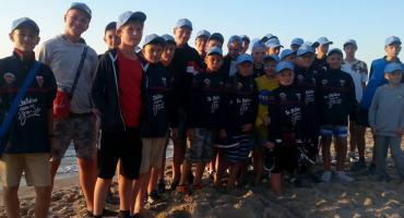 Akademia Piłkarska Sparty Złotów na obozie w Mielnie