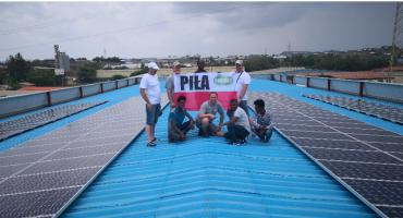 Pierwsza polska instalacja fotowoltaiczna w słonecznej Afryce