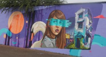 Nowy mural w Jastrowiu