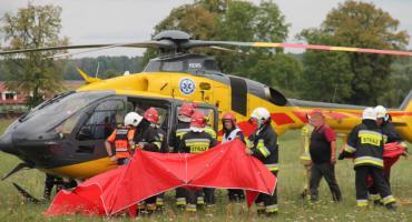 Wypadek na trasie Zalesie - Pieczynek