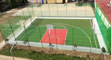 Mini boisko przy ul. Westerplatte - już otwarte