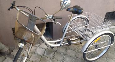 Szukamy właściciela trójkołowego roweru