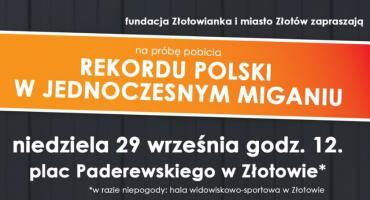 Próba pobicia rekordu Polski w jednoczesnym miganiu