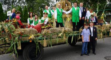 Dożynki gminno - powiatowe w Łobżenicy[WIDEO]