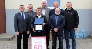 50-lecie działalności w LZS Zdzisława Gwizdały