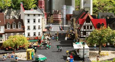 Zabytki z klocków LEGO - warsztaty w Okonku